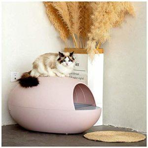 Entièrement Litière Pour Animaux Automatique D'auto-Nettoyage Cat Cat Smart Box Cuvettes De WC Électrique Cat Bassines, Pet Supplies,Rose