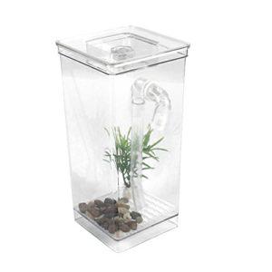 Etbotu Fish Tank de changement de l'eau automatique Mini Electric Fonction filtre cylindrique pour décoration
