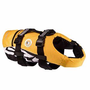 EzyDog – Seadog – Veste de flottaison – Jaune – Taille S