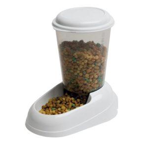Ferplast Zénith, distributeur de croquettes Chiens 3 L, colori blanc