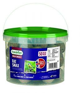 Gardman 07120 Boule de Graisse sans Filet Lot de 50