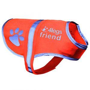 Gilet réfléchissant pour chien, 5 tailles, haute visibilité pour les activités de plein air, jour et nuit, pour que votre chien soit visible, à l'abri des accidents de voiture