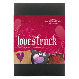 glamourati 'Lovestruck' paillettes trimestre Mark Kit pour chevaux – Rouges
