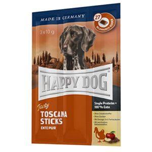 Happy Dog Tasty Toscana Sticks (Kaustange mit Ente) 3x10g
