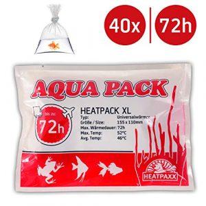 HeatPack 72h | Coussin chauffant pour l'expédition d'animaux | L'envoi de plantes | 15,5 cm x 11 cm
