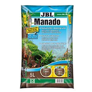 JBL Manado Substrat de Sol Naturel Aquariophilie 5 L