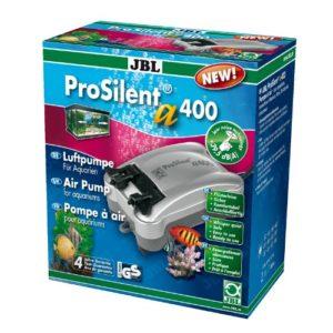 JBL ProSilent a400 – Pompe à air pour aquariums d'eau douce ou d'eau de mer de 200 à 600 l