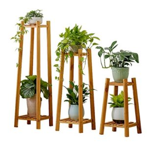 JHhuajia Etagère à Fleurs Escalier pour Plantes Bois échelle Plante Support intérieur Escalier Présentoire de Jardin (Couleur : A)