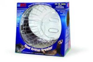Lee S Aquarium & Pet Products géant Kritter Krawler clair Vehicle 31,8cm–20226