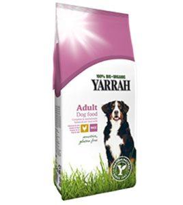 Lot de 24Bio Sensitive Nourriture pour chien Poulet, Riz 10kg Yarrah