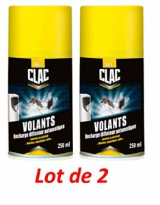 MOUCH'CLAC Recharge Insecticide, Jaune x2