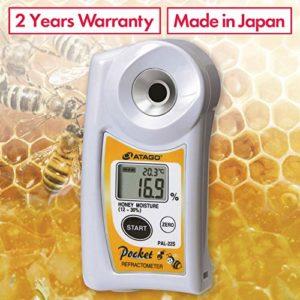 Pal-22s Digital portatif Pocket Miel l'humidité Réfractomètre