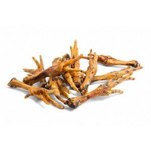 Pattes de Poulet 1000g, 1kg 1pack| Super Deal Dog stix Snack Treat Dental Stick Hooves Chewable Pet Natural digestible