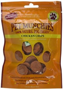 Pet Munchies Chicken Chips Treats for Dogs 100g