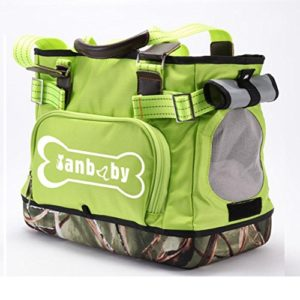 Pet Sling Carrier Mains Libres Sling Pet Chien Chat Carrier Bag Doux Confortable Chiot Kitty Lapin Double-Face Pouch Épaule Carry Tote Sac À Main,Green