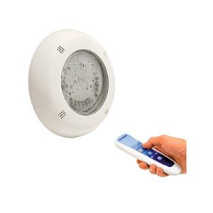 Projecteur piscine béton LumiPlus LED RGB Slim 1.11Wireless 2projecteur + commande à distance Astralpool