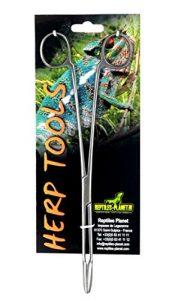 Reptiles Planet Pince Ciseaux Hemostat Nettoyage ou nourrisage Reptiles Courbe 25 cm
