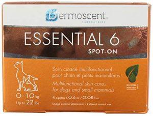 Soin complet de la peau pour Chien, Dermoscent Essential 6 Spot On, Poids de10 à 20 kg. – DERMOSCENT