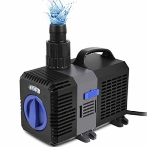 Speed Super Eco Pompe de Bassin, Pompe à Filtre, Basse consommation, Pompe à Eau Bassin koï, Pompe ruisseau (3000–10000l/h) 3600L/H