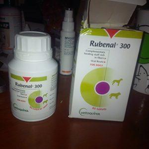 Vetoquinol 13906 Rubenal pour chien boîte de 60 comprimés 300mg