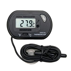 Winkey Aquarium Thermomètre, WMA Digital LCD Poissons d'aquarium marin vivarium Thermomètre -50 °C à 70 °C