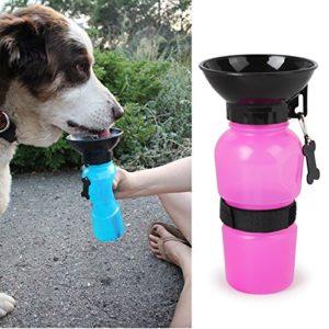 Yezelend Voyage Sport Bouteille d'eau extérieur Feed Gourde pour Animal Domestique d'alimentation Portable pour Votre Mignon Chiens