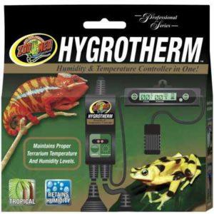 Zoo Med Hygrotherm Contrôleur d'Humidité/Température pour Reptile/Amphibien