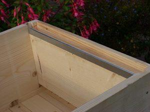 6 paires deglissières en acier pour ruche – Apiculture