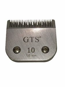 A5 Clipper tondeuse Lames 1,6 mm # 10 Wahl, Andis, Aesculap, Moser, Oster, Liveryman