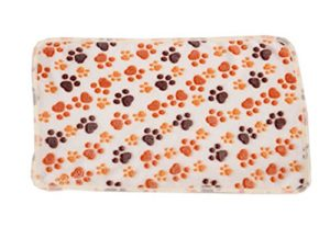 Aikesi Couverture Douce et Chaude en Velours pour Chien ou Chat Tapis Animal Domestique Coussin Size 76 * 53 cm (Beige)