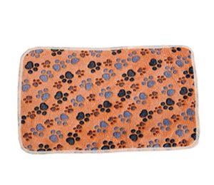 Aikesi Couverture Douce et Chaude en Velours pour Chien ou Chat Tapis Animal Domestique Coussin Size 76 * 53 cm (Coffee)