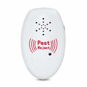 AJH Ultrasons antiparasite, Plug-électronique chez la Souris et Le Rat Repeller, insectifuge Lutte Contre Les ravageurs et Spider Souris Répulsif pour Les moustiques, Les Mouches, Les blattes