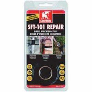 AQUAFORTE Film Kits de réparation de réparation 101SFT Ruban 3m Noir