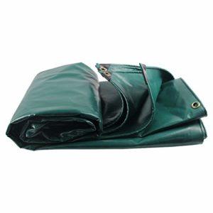 Bâche LINGZHIGAN Toile épaisse Toile en PVC Tissu de Pluie Tissu imperméable Tissu à baldaquin Toile Tissu Tissu de Pluie Toile de Soleil (Taille : 5m*10m)