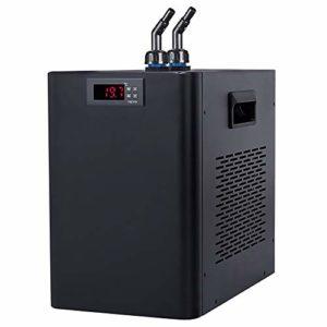 BAOSHISHAN Refroidisseur d'eau d'aquarium Fish Tank Refroidisseur spécial Silencieux Motif Réfrigération Compresseur pour Waterweeds/Méduse/Corail/Cristal crevettes