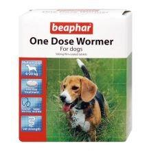 Beaphar une dose Wormer 2tabs Medium Dog