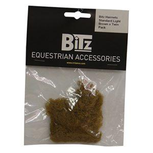 Bitz Filets à cheveux (Lot de 2) (Taille unique) (Châtain clair)