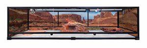Carolina Custom Cages Terrarium, géant Profond 72Lx24Wx18H; Montage Facile – Base & Top écran Uniquement, encadré 1 2