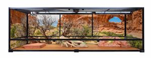 Carolina Custom Cages Terrarium, géant Profond Grand 72Lx24Wx24H; Montage Facile – Base & Top écran Uniquement, encadré 1 2