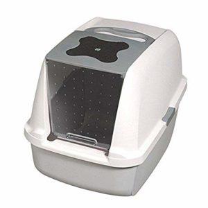 Catit Chat Maison de Toilette Gris 57×46.5×39 cm