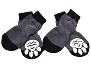 Chaussettes antidérapantes Expawlorer pour chien – Protection des pattes – Utilisation intérieure