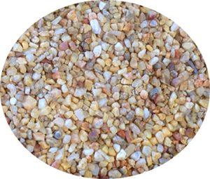 Classica Aquarium Golden Egg Gravier naturel 5kg d'aquarium plantes Substrat bardeaux