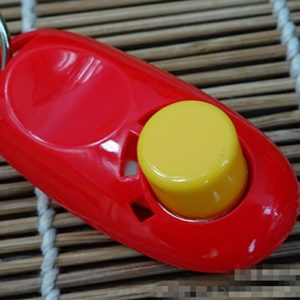 Clicker Training Dressage pour Animaux Chien Formation-Rouge