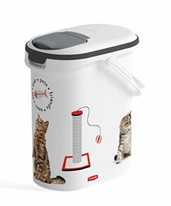 CURVER | Verseuse à croquettes 10L/4Kg – love pets – Chien,Chat Pet dry food container