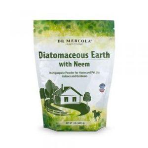 Dr Mercola Terre de diatomée avec Neem, 453.5G, 1sac
