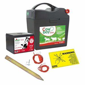 Eider 10045-500 Cowboy B 5000 Batterie alcaline 75 Ah