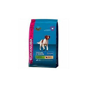 Eukanuba Mature et Senior de croquettes pour chien pour toutes les Races Agneau et riz 12kg (12kg) (lot de 6)