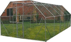 FeelGoodUK Cage en Acier galvanisé 6 x 3 x 2 m
