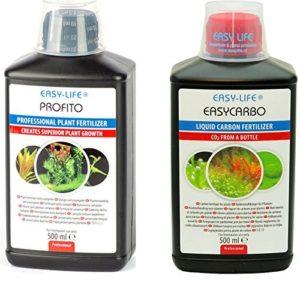 Fertilisant pour Plante Engrais Source de Carbone Easycarbo & Profito 500Ml * Pack 2 *