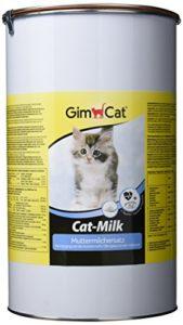 GimCat – Lait en poudre pour chat Cat-Milk – Lait maternisé et enrichi en taurine – Boîte de 2 kg